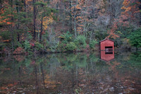 Reflections of a Boathouse